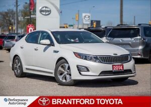 2014 Kia Optima Hybrid Local Trade In, Carproof clean, balance o