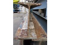 18 Foot RSJ. **CHEAP** (4x7 Reinforced Steel Beam) Only £108 Each. **READ DESCRIPTION**