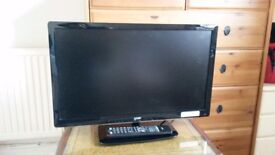 "24"" Logic TV with built in dvd"