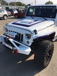 2014 JEEP WRANGLER UNLIMITED POLAR EDITION LIFTED!!!