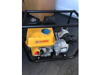 Brand new petrol/water pump