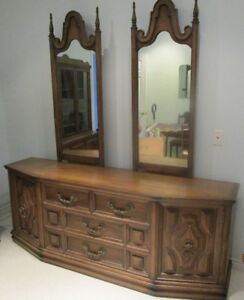 Large 2-mirror bedroom dresser - PRICE REDUCED