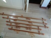 Wooden Curtain Poles Various Sizes available