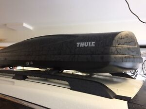 Thule 625 rooftop cargo carrier for rent.