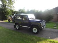 2004 LAND ROVER DEFENDER 90 COUNTY STATION WAGON