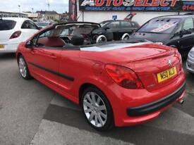 Peugeot 207cc GT Convertible *** FULL RED/BLACK LEATHER ***