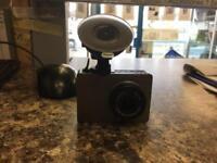 Yi dashcam camera with 8gb ad card