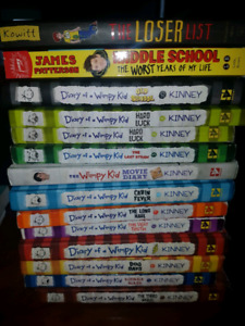 Diary of A Whimpy Kid Novels
