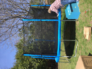 Barely used trampoline