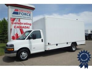 2014 Chevrolet Express 16 Ft Cube Van Rear Wheel Drive, 6.6L