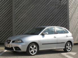 2007 SEAT IBIZA 1.9TDI DIESEL SPORT 5DR HATCH - OVER 68+MPG !!!!