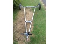 Launching trolley for dinghy or tender
