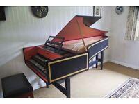 Double Manual Harpsichord
