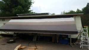 23ft trailer awning