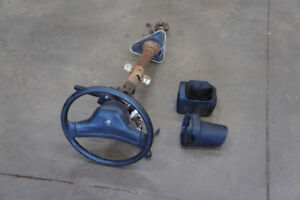 Steering Column from 1991 Dodge Ram Pickup