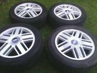 FORD GHIA ALLOY WHEELS 16 INCH ( fits all 5 stud ford's)