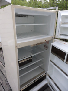 older fridge