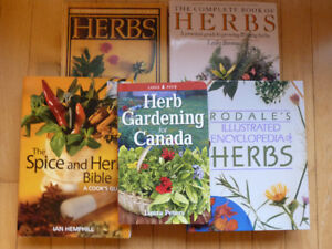 Herb & Spice Books - Collection of 5 Books