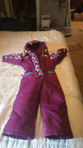Northpeak snowsuit size 4