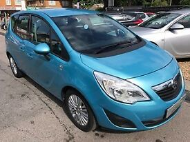 2011/61 VAUXHALL MERIVA 1.4 i 16V EXITE 5DR (A/C) 1 OWNER,SERVICE HISTORY,GREAT SPEC,DRIVES WELL