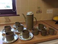 Coffee set immaculate condition used twice