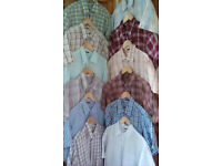12 x GAP Mens Short Sleeve Cotton Shirts - Size: XL