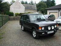 Wanted early Land Rover Discovery or Range Rover project.