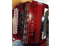 Guerrini Gala 3 Row Button Key Accordion (Rare)