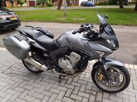 CBF600 low mileage, always garaged, paintwork and engine superb, colour-coded paniers