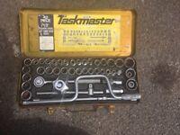 socket set ratchet 42 pcs