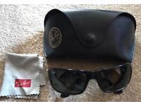 Rayban men's sunglasses.