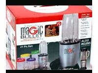 Brand new boxed Magic Bullet 21pc