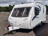 Sterling Europa 460. 2011. Two Berth Touring Caravan. MTPLM 1300kgs
