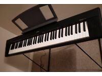 Yamaha Keyboard NP30 Portable Grand Piano c/w Yamaha stand