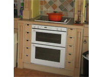 ARISTON Built under Electric Double Oven and Grill Model TC720