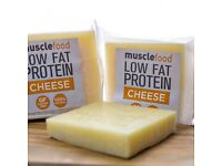 High protein low fat cheese