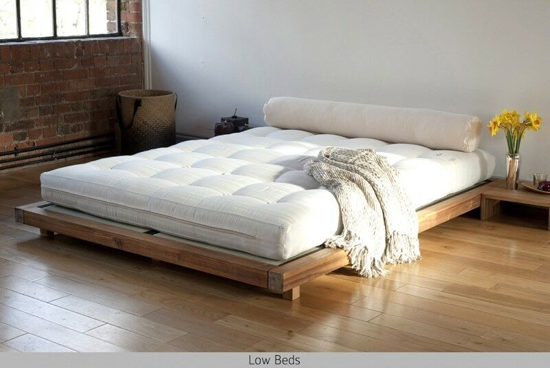 Futon Company King Size Low Bed With Tatami Mats