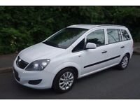 2010 Vauxhall Zafira 1.9 Diesel, **** WHITE ***** 1 Owner from New, Full Service History,
