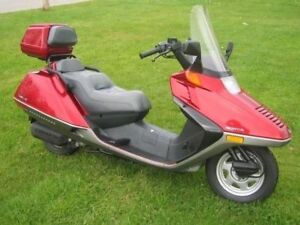 Honda Helix CN250 Scooter For Sale Or Trade.