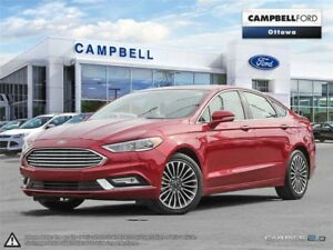 2017 Ford Fusion Titanium AWD-LOADED-NAV-LOW PRICE