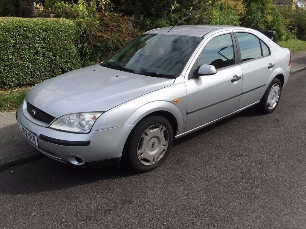 ford mondeo 2 0 lx tdci 2002 silver in knowle park. Black Bedroom Furniture Sets. Home Design Ideas