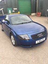 Audi TT 1.8 T COUPE 180PS (blue) 2005