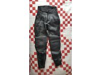 Leather Motorcycle Trousers, Ladies, Belstaff, Size 10