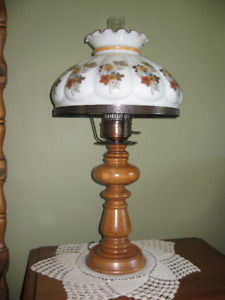 Maple Table Lamp