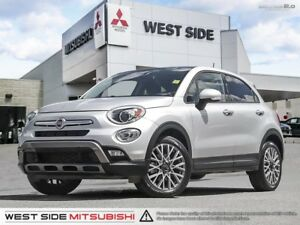 2016 Fiat 500x Trekking–Accident Free–SiriusXM–Sunroof–Moonroof