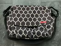 Skip hop baby changing bag, with changing mat