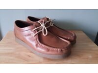 Mens Casual Tan Shoes.* As New *Made by Base of London.