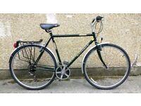 """Men's Ridgeback Adventure Large 23"""" frame touring hybrid bike bicycle"""