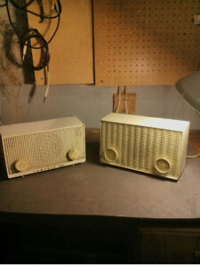 Two Made in Canada ADMIRAL AM tube radios $40 both