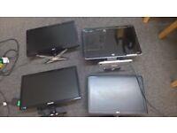 Assorted pc monitors